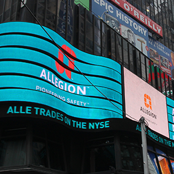 Allegion Declares Quarterly Dividend