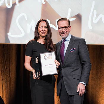 German Brand Award 2016 for SimonsVoss