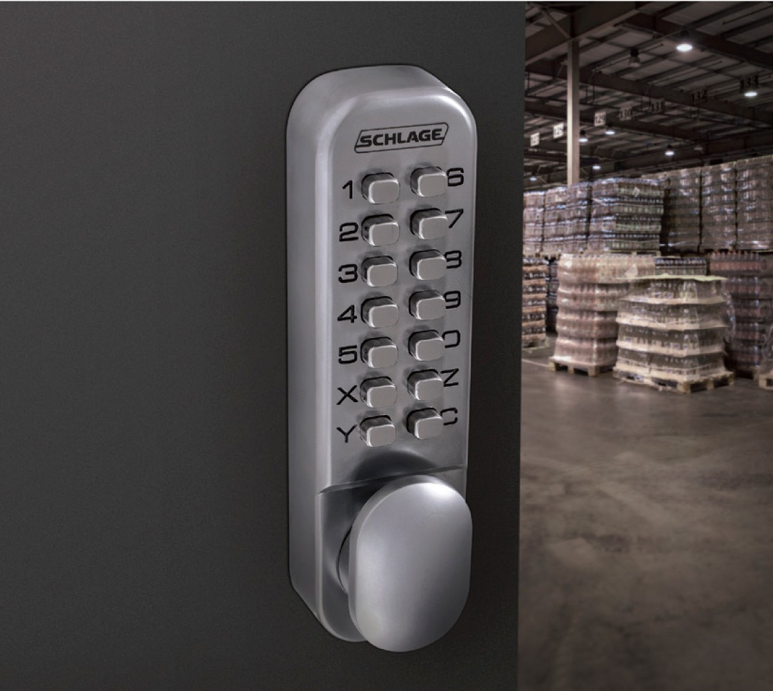 Schlage Digital Mechanical Locks