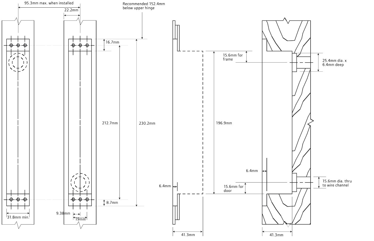 Door Access Control Wiring Diagram Entry Control Point Diagram ...